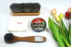 Bộ xi đánh giày Kiwi - đen