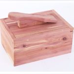 hộp đánh giày gỗ tuyết tùng 2